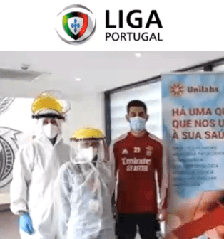 Unilabs is the partner of the Portuguese football league